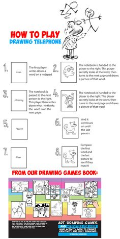 14 best Art and Drawing Games for Kids images on Pinterest | Drawing ...