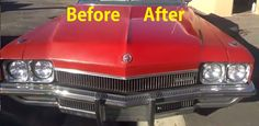 Car Polishing DIY Buffing Auto Restoration Restore Paint Before & After
