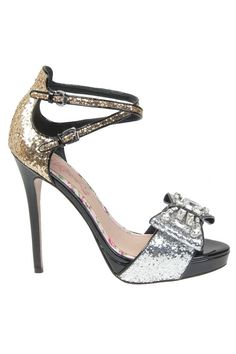 Cece L'Amour Kloey Pump In Silver & Gold