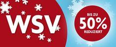 Mit dem Winterschlussverkauf 2015 könnt Ihr richtig sparen! #Winterschlussverkauf2015 #WSV