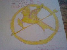 hunger games cover sketch