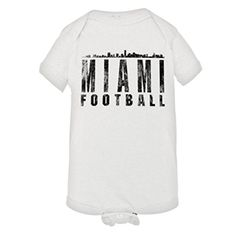 "Baby Creeper Miami Football Distressed Dolphins Skyline HQ 1-Piece Jumper  https://allstarsportsfan.com/product/baby-creeper-miami-football-distressed-dolphins-skyline-hq-1-piece-jumper/  Search ""PleaseMeTees"" for our complete catalog for women, men, youth, and infants! 4.5 oz 100% Combed Ringspun Cotton Jersey Knit Infant Onsie – Reinforced Three-Snap Closure on Binding"