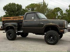 1976-78 Dodge Warlock, a trick truck brought to you by Ma Mopar