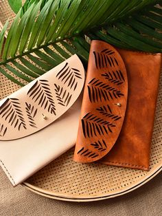 Tropical clutches - genuine leather - Marco Visconti - Hong-Kong