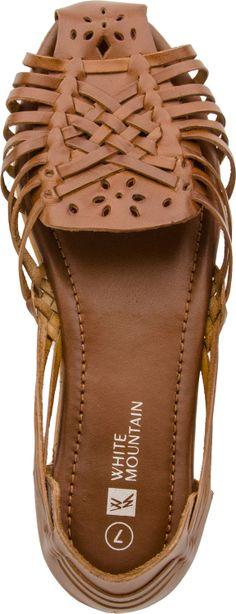 White Mountain Catamaran women's casual shoes (Tan Leather)