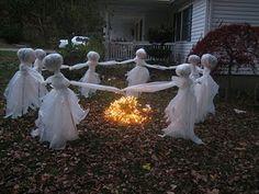 cool diy halloween decorations | 35 Ghosts, Skeletons And Skulls For Halloween Decoration » Photo 9