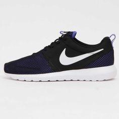 new style 9894d 1dc81 Nike Roshe NM BR Black Blue White 644425-005 Sneakers Nike, Nike