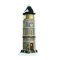 st nicholas square village collection clock tower christmas clock christmas home xmas