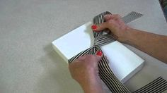 Tying a Bowing for a Left Handed Person