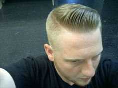 in haircut topics Men's Haircuts, Haircuts For Men, Brylcreem Hairstyles, Hair And Beard Styles, Hair Styles, Epic Hair, Barbers Cut, Tapered Haircut, Slick Hairstyles