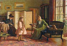 1892 - Jessica Hayllar - When First We Meet