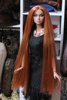 Fashion Royalty Dolls, Fashion Dolls, That Poppy, I Love Redheads, Dark Moon, Beautiful Barbie Dolls, Doll Face, Barbie Clothes, Poppies