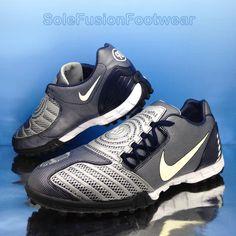 93cd202078 Nike Mens Total 90 Football Trainers Blue sz 9 Shoot II Soccer Shoes US 10  EU