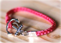 PINK = Breast Cancer Awareness Month. For every pink anchor bracelet purchased in the month of October Gypsea Soul is donating 2 dollars!