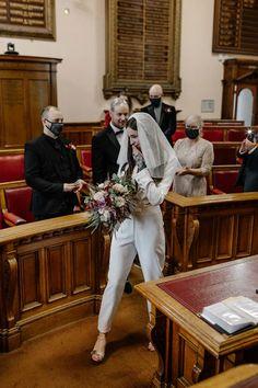 Pub Wedding Reception, City Hall Wedding, Bridal Jumpsuit, Wedding Highlights, Courthouse Wedding, Wedding Looks, Traditional Wedding, Wedding Planning, Wedding Ideas