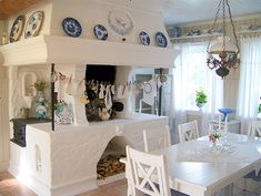 swedish country decor | lovely swedish country style above is my favourite pic