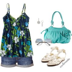 """""""It's Hot Out Babydoll"""" by archimedes16 on Polyvore"""