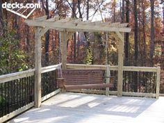 Arbor Pergola Deck Picture Gallery