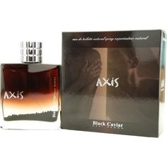 AXIS BLACK CAVIAR by SOS Creations EDT SPRAY 3 OZ. Launched by the design house of SOS Creations in 2007, AXIS BLACK CAVIAR by SOS Creations for Men posesses a blend of: mandarin orange and spicy anise encounter pepper, nutmeg and juniper berries It is recommended for casual wear.
