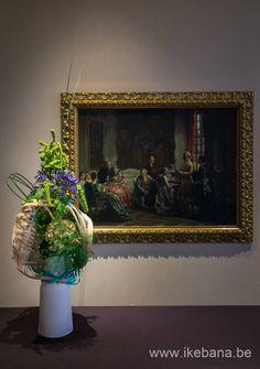 Ikebana Floral Art for Event of ANA - Ilse Beunen