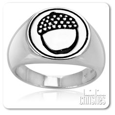Hobbit Acorn Signet Ring_ Lord of the Rings Jewellery- Hobbit Acorn Signet Ring