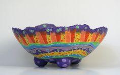 Bowl en Papel Maché by Choicita, via Flickr