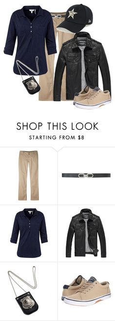 """""""Investigating"""" by echomariejuliet ❤ liked on Polyvore featuring Mountain Khakis, Lauren Ralph Lauren, Fat Face, Sperry and New Era"""