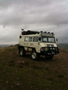 Pinzgauer camper, Dessert Shot by scott_3720, via Flickr