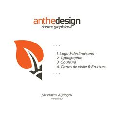 Charte 2014 GRAPHIQUE Agence web anthedesign by AntheDesign via slideshare