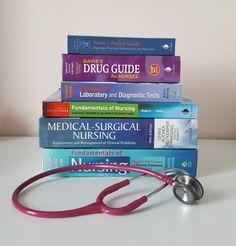 Surviving The First Week Of Nursing School Nursing Classes, Nursing Career, Nursing Tips, Nursing Schools, Nursing School Graduation, Graduate School, Nursing Assessment, Nurse Stethoscope, Hospice Nurse