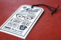 graphic designer business card....too bad I'm not a graphic designer....