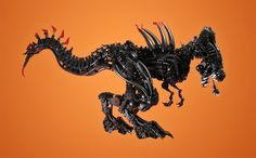 Xenomorph Rex by retinence, via Flickr
