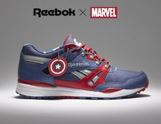 Marvel has teamed up with sports brand Reebok to create a sneaker capsule collection, featuring some of Marvel's most iconic characters.