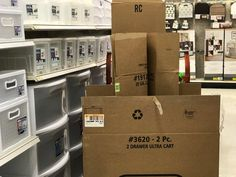 27 Places to Get Free Moving Boxes - The Krazy Coupon Lady Free Moving Boxes, Free Boxes, Coupon Lady, Places, Lugares