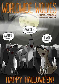 Worldwide Wolves HAPPY HALLOWEEEEEEEN.