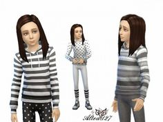 Clothing: Set for Kids from Altea127 SimsVogue • Sims 4 Downloads