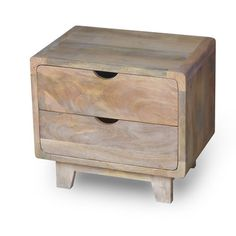 Features: Made from solid mango wood Paquette style Item is assembled Items Included: 1 bedside table without accessories Colour: Brown Frame Materia Bedside Drawers, 3 Drawer Bedside Table, Cube Side Table, Round Side Table, Types Of Wood, Wood Species, Adjustable Shelving, Solid Wood, Mango