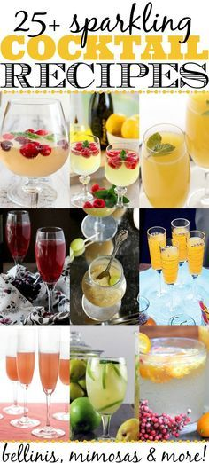 Wow, can you believe that New Year's Eve is RIGHT around the corner? How will you be ringing in the new year? If champagne is in your menu plans, you don't want to miss these 25 sparkling cocktail recipes! Why stick with plain old bubbly when you could serve up a signature cocktail this holiday season? Or [...]