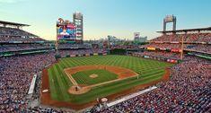 Citizens Bank Park -Tenant: Philadelphia Phillies -Capacity: 43,647 -Surface: Grass -Cost: $458 Million -Opened: April 12, 2004