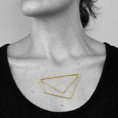 Quadrilateral Triangle Necklace - Exclusive to Adorn Milk \ Myers Collective