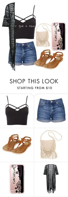 """last day of school outfits"" by barbierollins ❤ liked on Polyvore featuring Charlotte Russe, Topshop, Billabong, Casetify and Guild Prime"