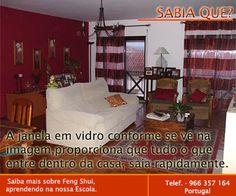 Escola Portuguesa de Feng Shui: SABIA QUE ... JANELAS