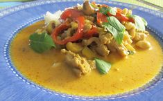 Yummy Food, Tasty, Food Cravings, Bon Appetit, Thai Red Curry, Food And Drink, Cooking Recipes, Favorite Recipes, Chicken