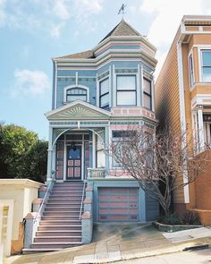 Pastel Victorian in Corona Heights, San Francisco