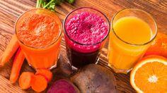 Ovocné a zeleninové šťávy  Foto: