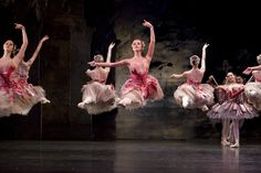Anniek Soobroy with Artists of Birmingham Royal Ballet in The Nutcracker. Photo: Bill Cooper / BRB ©
