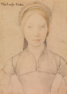 Hans Holbein the Younger (1497/8-1543)  Grace, Lady Parker (1515- by 1549)  c.1540-43