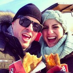BeaverTails pastries make us excited, too :) Instagram photo by @Greg Campbell (Greg Campbell)
