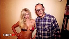 """Kate Upton demonstrates the """"Cat Daddy"""" by Terry Richardson."""
