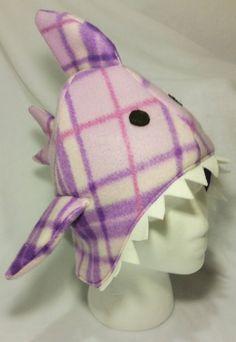 Shark Winter Hat Christmas Gift Winter Stocking by SewFruitful2012